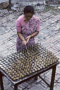 Bodhnath oil lamps_resize